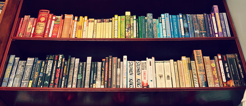 Bookshelf of Colors | by bonheureux