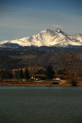 mount mt meeker mountain snowcapped snow rocky longs rockies lyons mccall reservoir lake pond slopes peak peaks mountainbackdrop mountainbackground mountainsbehind cielo