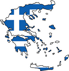 Wallpapers Flag of  Greece Flag Graphics (2) - Copie