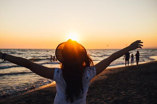 sunset summer italy beach fav50 finepix fujifilm lazio kodakgold100 fregene singita fav10 fav25 mirrorless vsco singitamiraclebeach vscofilm fujix100s x100s fujifilmx100s event:singitamiraclebeach=july112015
