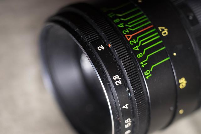 Helios 44-2 58mm f/2.0