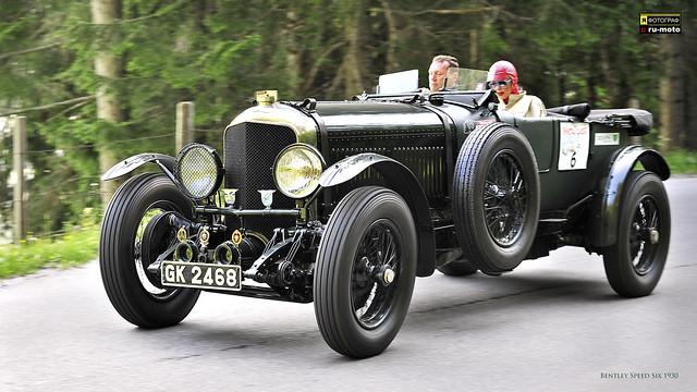 Bentley Speed Six 1930 at Ennstal-Classic 2013 # 6 Copyright Bernhard Egger :: eu-moto images 5070