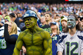 Loudest crowd roar at a sports stadium Seahawks-2 | by PhilipRobertson