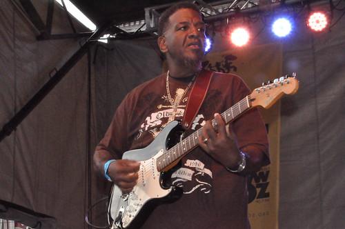 The Lee Boys at Crescent City Blues & BBQ Fest 2013.  Photo by Kichea S Burt.