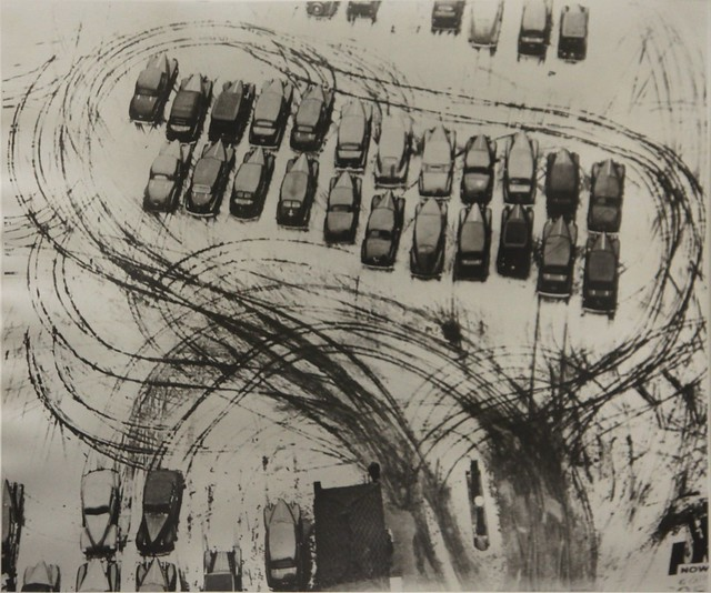 [ M ] László Moholy-Nagy - Parking lot in Chicago (1938)
