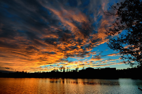 sunset sky reflections day glow sundown cloudy bigsky