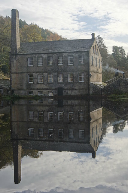 Gibson Mill, Hebden Water .....again. Explored 17.11.13