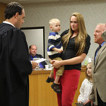 Wes Weaver oath of office 2013