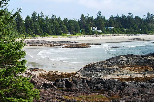 Chesterman Beach, Tofino, Pacific Rim, Vancouver Island, British Columbia