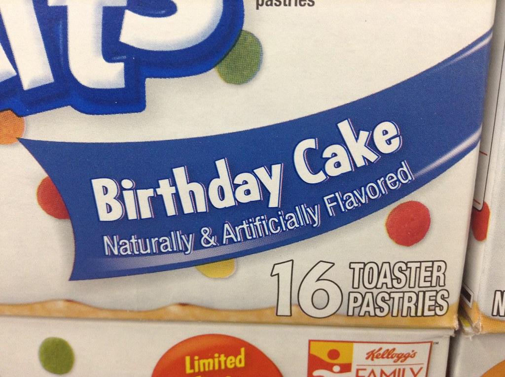 Marvelous Pop Tarts Birthday Cake 50 Years Pop Tart 50Th Birthday S Flickr Funny Birthday Cards Online Aeocydamsfinfo