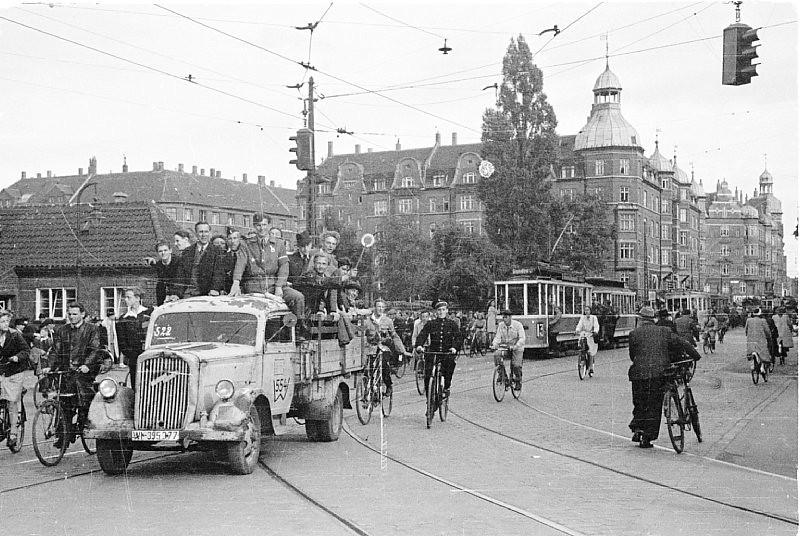 Days of liberation at Amagerbrogade.