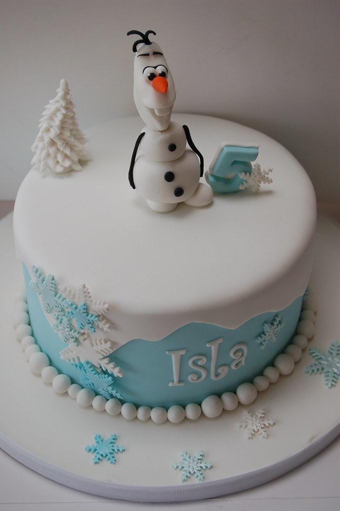 Amazing Frozen Olaf Birthday Cake Frozen Birthday Cake Smiller Cakes Funny Birthday Cards Online Alyptdamsfinfo