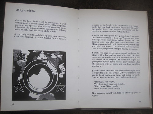 How to Make Magic' from 1974  A children's handbook of the