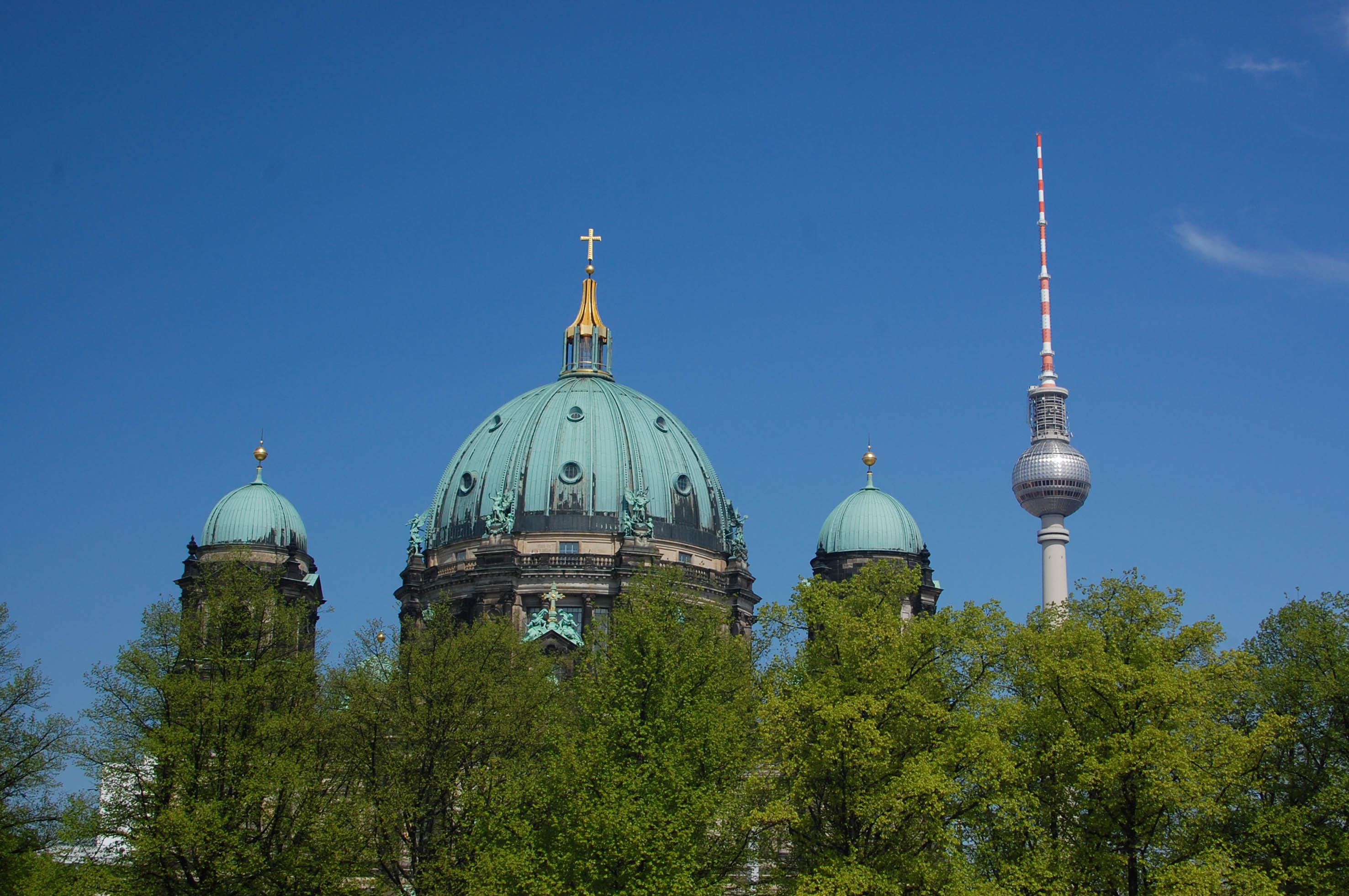 Kopule nad Berlínem