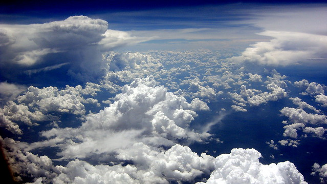 Empire State cloudscape