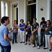 Visita guiada de professores ao Palácio Rio Branco