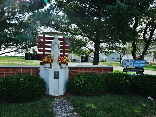 Our Lady of the Highways Shrine, US Route 66, Raymond, IL