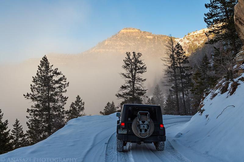 Down the Mountain