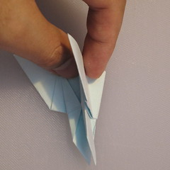 วิธีพับกระดาษเป็นรูปผีเสื้อ 017