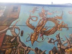 Bue Jamz mural in Gent