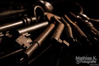 Alte Schlüssel | Projekt 365 | Tag 62 #FlickrFriday #MyFavoriteMovieScene