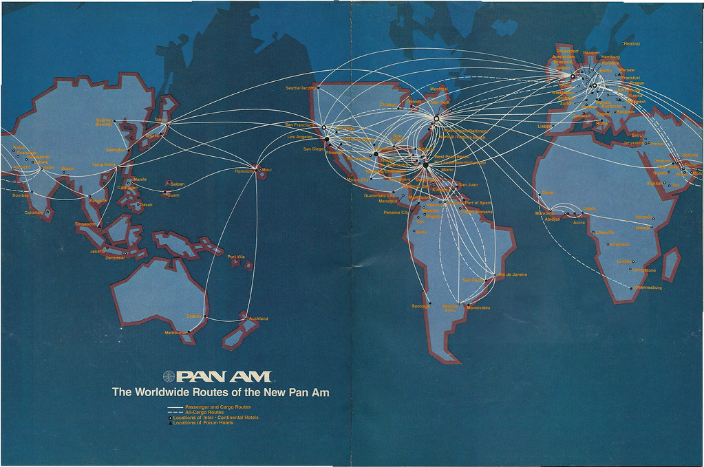 Airline Maps — Pan Am worldwide routes, May 1982 Pan Am's... on aer lingus route map, qantas route map, empire airlines route map, capital airlines route map, united flight map, british airways route map, singapore airlines route map, american airlines route map, alaska airlines route map, us airways route map, jetblue route map, spirit airlines route map, southwest airlines route map, philippine airlines route map, frontier airlines route map, delta air lines route map, scandinavian airlines route map, westjet route map,