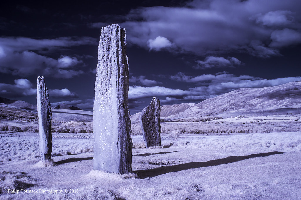 Standing Stones at Machrie Moor (Isle of Arran)