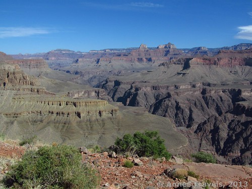 The Grand Canyon from Horseshoe Mesa, Arizona