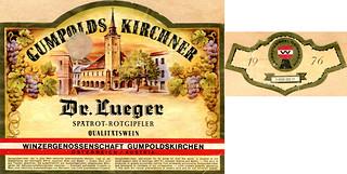 Austria - Gumpoldskirchner Dr Lueger