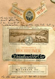 Deinhard Hochheimer 1935 (Rhine)