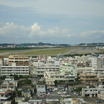 Futenma Air Base Closely surrounded by homes, businesses, schools of Okinawan civilians who never asked for this base to be built here in their home...