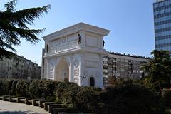 Триумфальная арка «Македония»