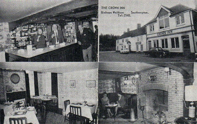 Crown Inn, Bishops Waltham (1968)