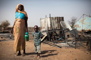 Displaced Mother and Child, South Darfur | by United Nations Photo