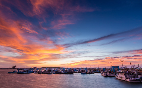 sunset sky canon harbor angle wide hsinchu 夕陽 日落 fiery 南寮 火燒雲 夕色