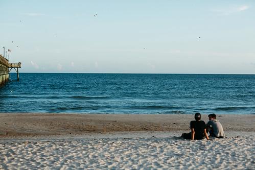 summer beach northcarolina oakisland vscofilm