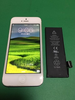 282_iPhone5のバッテリー交換 | by Smapho_Repair_House