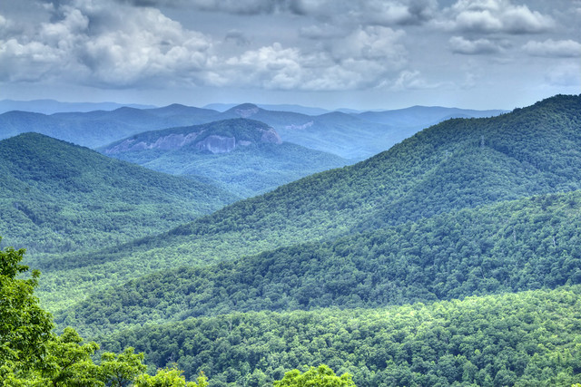The Cradle of Forestry Overlook, Transylvania Co, NC