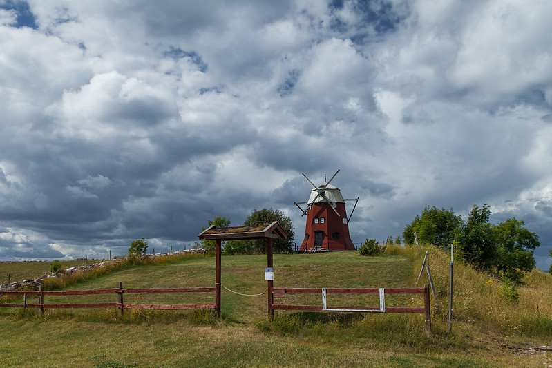 https://www.twin-loc.fr  Ile öland suède moulin à vent - Island öland sweden windmill - photo picture image photography
