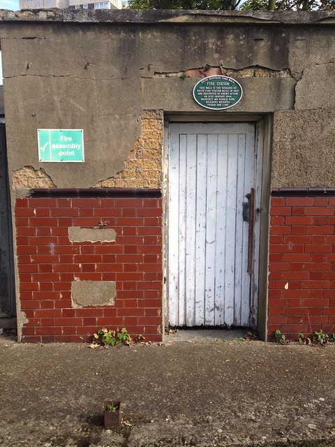 Erith fire station remains