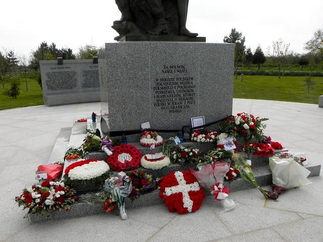 The Polish War Memorial at the National Memorial Arboretum