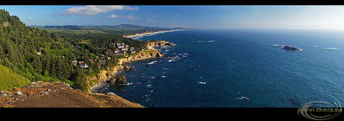 usa beach oregon landscape coast scenery view cliffs pacificocean oregoncoast ottercrest ottercrestloop annbadjura