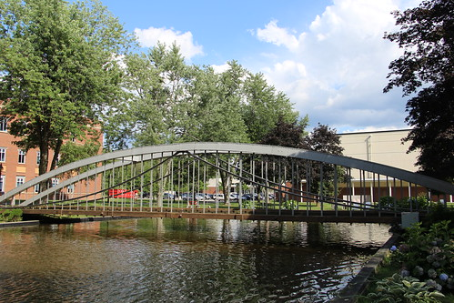 Moseley Wrought Iron Arch Bridge (North Andover, Massachusetts) | by cmh2315fl