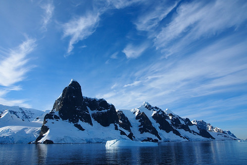 Antarctica sky and ice | by londoncyclist