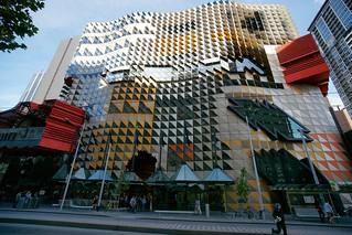 RMIT Swanston Academic Building east facade, Melbourne | by Joe Lewit