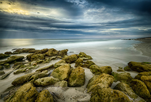 centralflorida cloud dawn florida landscape longexposure lowlight marineland ocean sky sunrise usa water rock palmcoast edrosackcom