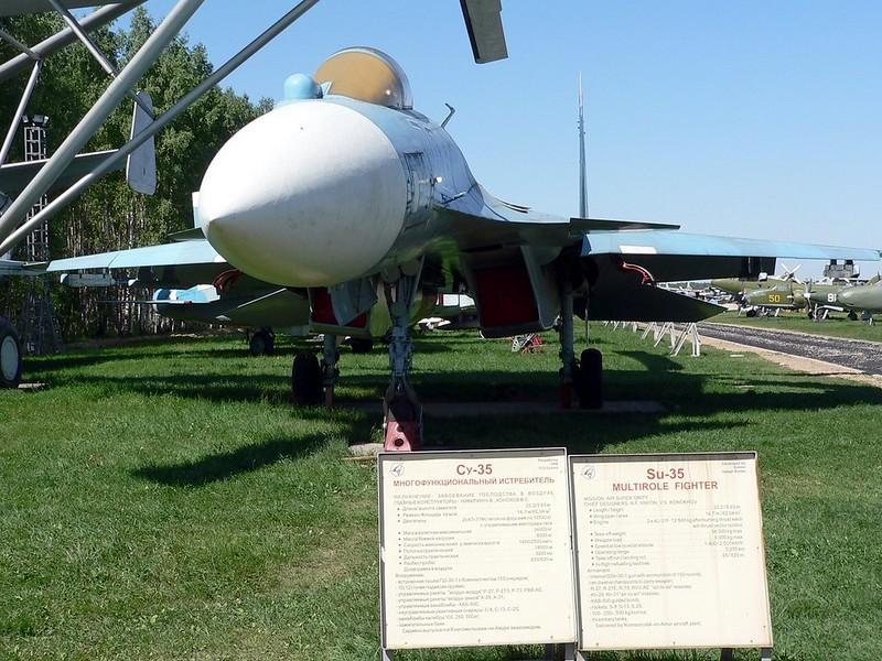 Su-35战斗机侧卫2