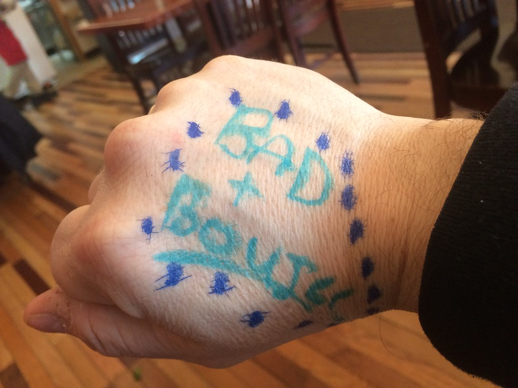 Bad Boujie Fake Hand Tattoo Magic Markers Steven Depolo