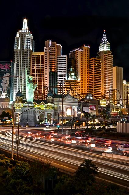 Las Vegas - New York New York & Lights