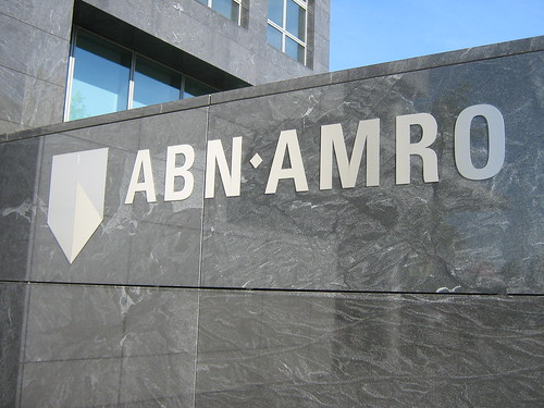 ABN Amro logo in monochrome   by DennisM2